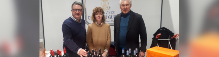 Grand Debut of Château Gugès at Le Salon du Vin au Féminin du Touquet 2019