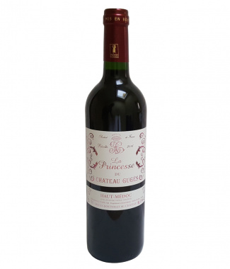 Red Wine La Princesse du Chateau GUGÈS 2016, 750 ml, France, Bordeaux, Haut Médoc, Cissac-Médoc